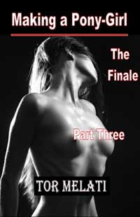 cover design for the book entitled Making a Pony-girl Part Three - Final Part