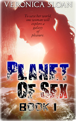 cover design for the book entitled Planet of Sex