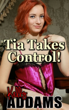 cover design for the book entitled Tia Takes Control