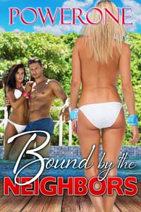 cover design for the book entitled Bound by the Neighbors