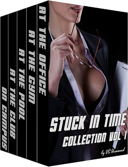 cover design for the book entitled Stuck in Time Collection Vol 1