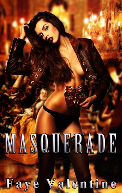 cover design for the book entitled Masquerade