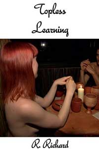 cover design for the book entitled Topless Learning