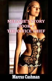 cover design for the book entitled Melanie