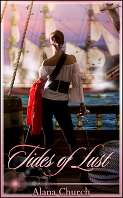 cover design for the book entitled Tides of Lust