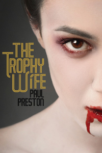 cover design for the book entitled The Trophy Wife