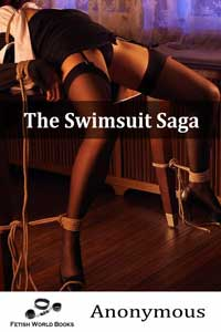 cover design for the book entitled The Swimsuit Saga