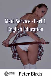 cover design for the book entitled Maid Service - Part 1