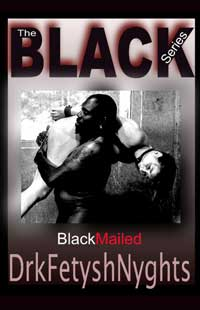 cover design for the book entitled BLACKMAILED