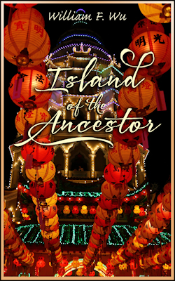 cover design for the book entitled Island of the Ancestor