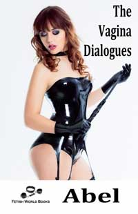cover design for the book entitled The Vagina Dialogues