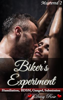 cover design for the book entitled Biker