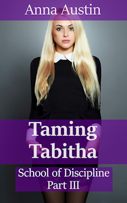 cover design for the book entitled Taming Tabitha