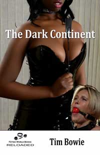 cover design for the book entitled The Dark Continent