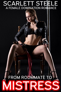 cover design for the book entitled From Roommate to Mistress