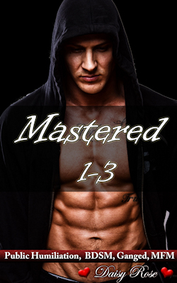 cover design for the book entitled Mastered 1 - 3