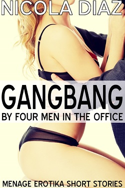 Gangbang by Four Men in the Office