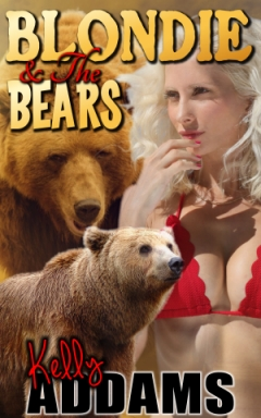 cover design for the book entitled Blondie & The Bears