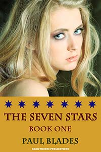cover design for the book entitled The Seven Stars- Book One