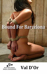 cover design for the book entitled Bound For Barcelona