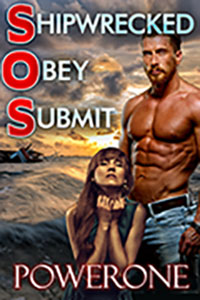 cover design for the book entitled Shipwrecked Obey Submit