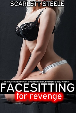 cover design for the book entitled Facesitting for Revenge