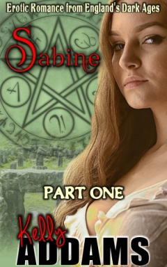 cover design for the book entitled Sabine