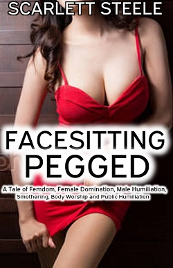 cover design for the book entitled Facesitting Pegged
