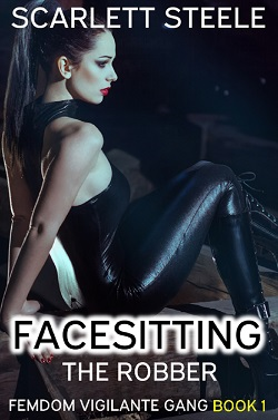 cover design for the book entitled Facesitting the Robber