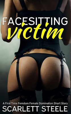 cover design for the book entitled Facesitting Victim