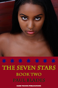 cover design for the book entitled The Seven Stars- Book Two