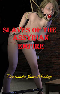 cover design for the book entitled Slaves Of The Assyrian Empire