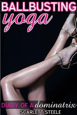 cover design for the book entitled Ballbusting Yoga
