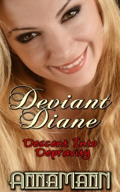 cover design for the book entitled Deviant Diane