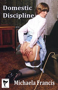 cover design for the book entitled Domestic Discipline