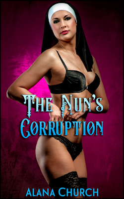 cover design for the book entitled The Nun