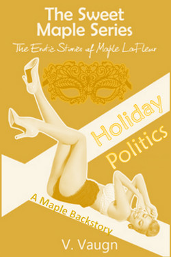 cover design for the book entitled Holiday Politics