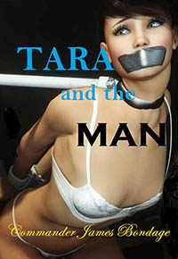 cover design for the book entitled Tara And The Man