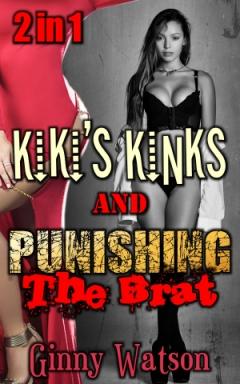 cover design for the book entitled Kiki