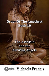 cover design for the book entitled The Assassin And The Arriving Angels