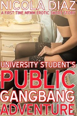 University Student's Public Gangbang Adventure