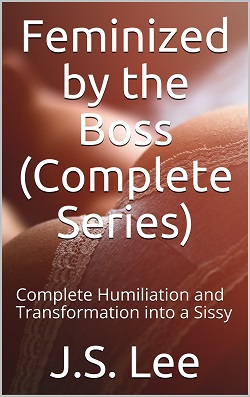 cover design for the book entitled Feminized by the Boss