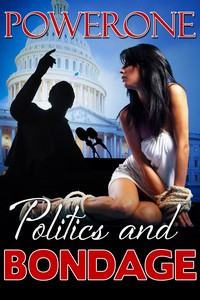 cover design for the book entitled POLITICS AND BONDAGE
