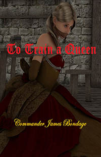 cover design for the book entitled To Train A Queen