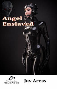 cover design for the book entitled Angel Enslaved