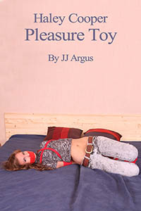 cover design for the book entitled Haley Cooper, Pleasure Toy