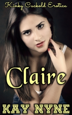 cover design for the book entitled Claire