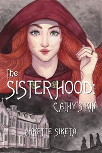 cover design for the book entitled The Sisterhood - Cathy