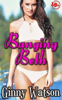 cover design for the book entitled Banging Beth