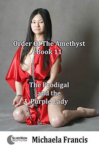 cover design for the book entitled The Prodigal And The Purple Lady